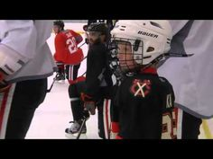 Watch 9-year-old James' wish come true.  I love the Blackhawks.