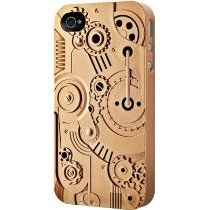 Detailed Avant-garde Hard Case for #iPhone 4/4S [Clockwork Bronze]