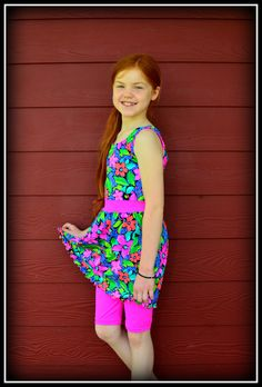 Girls and Teens Modest Swimsuit  Original Style   Sizes 10, 12, 14. $75.00, via Etsy.