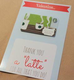 FREE PRINTABLE: Teacher's Valentine's Day Card