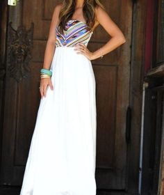 maxi dress for summer!