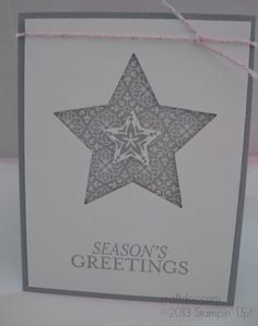 CRAFTDOC » Blog Archive » Stampin' Up! Bright & Beautiful - Big Shot Special for August with Star Framelits!