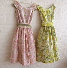 pretty tea dresses...