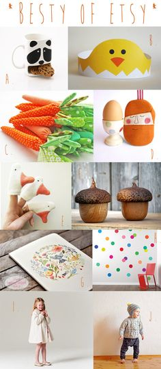 The Best Of Etsy Kids : Printable Easter Crown and Great Gifts – April 2014