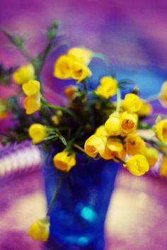 ❥ buttercup bouquet