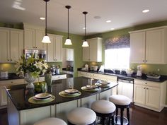 Oli, if you were wanting to go bright, this would be good but I think in a little more muted stage....... New Kitchen in Woodbridge VA Home