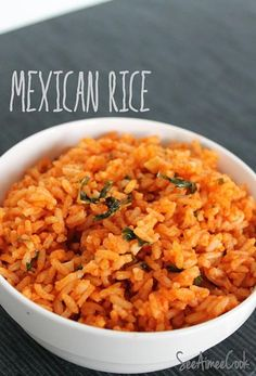 Rice- 1 cup rice, 2 cups of chicken broth, 1 Tbsp of butter, 1 Tbsp of olive oil, 1 small onion,  4 cloves of garlic, 1/4 cup of tomato paste, 1 tablespoon of lime juice, 1 tablespoon of cumin,  Salt.