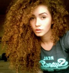 Natural curly hair girl swag, natural curly hair, color, long hair dos, big hair, natural curls, thick hair, curlyhair, cur hair