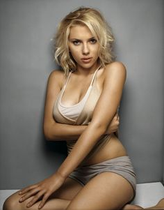 """If you're comfortable with yourself, then it's sexy. Maybe people think I look sexy because I feel sexy. I am a very liberated person that way. I'm very comfortable with my sexuality, my body, my face - well, sometimes I'm not comfortable with my face, but it's stuck there and there's nothing I can do about it."" -- Scarlett Johansson"