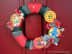 Ninjago wreath