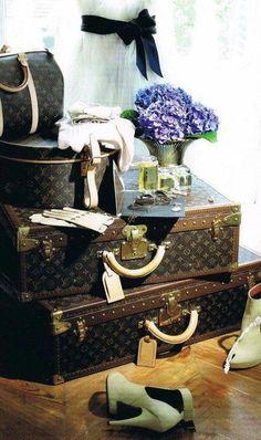 Louis Vitton luggage