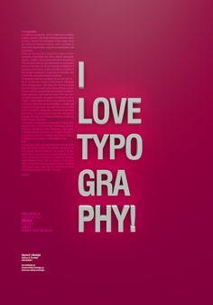 I love typography by Marios G. Kordilas, via Behance