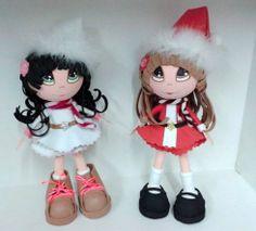 Diseños Navidad 2013.  Fofuchas.