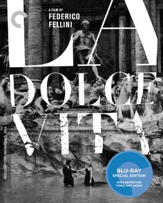 La Dolce Vita - Blu-Ray (Criterion Region A) Release Date: October 21, 2014 (Amazon U.S.)