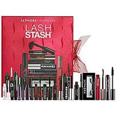 $45 10 mascaras!Sephora Favorites - Lash Stash  #sephora