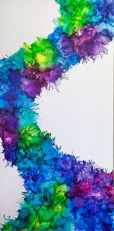 Melted Crayon Art- LOVE this effect!