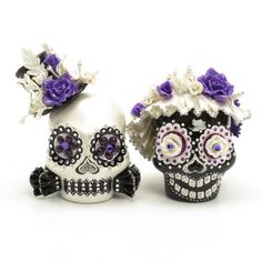 Skull Wedding Cake Topper A00153