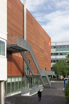 Sport center Hector Berlioz   DFA   Dietmar Feichtinger Architectes   Archinect