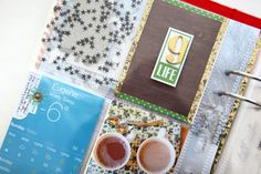 A great 2x2 grid w/ simple embellishments that tie it all together | ali edwards