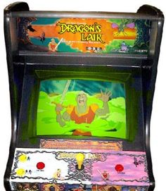 Dragon's Lair, the original from 1983.