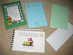 students, school stuff, writing, gifts, write bag, year gift, bags, morrow kindergarten, teach idea