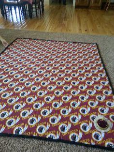 Washington Redskins Blanket