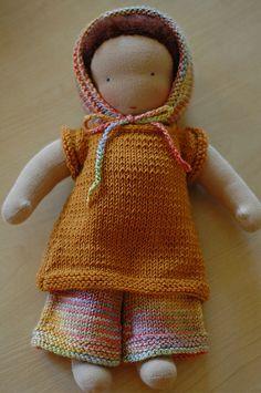 sweet little waldorf doll