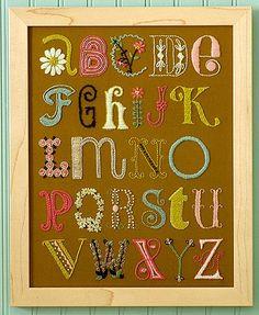 embroidery font sampler