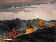 Kissing the Moon, Winslow Homer