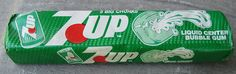 7UP Gum (there was Dr. Pepper too!)