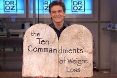 Weight-loss commandments