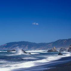 Van Damme Beach, Mendocino Coast, California | Coastalliving.com