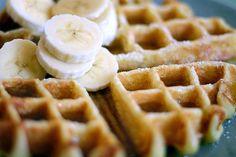 waffle recipe via smitten kitchen