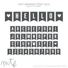 MTF Banner Font {CU}