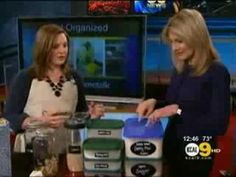 I've got TEN ways to organize with regular household items! Check it out! Becky Shares Organizing Tips on CBS Los Angeles!