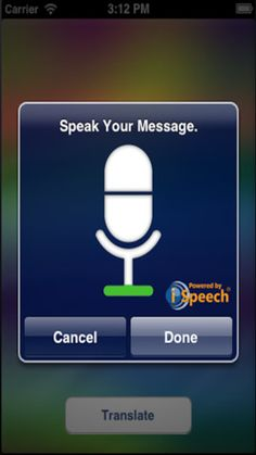 Speech2Sign ($0.00) The first app ever to convert speech to sign language for free! Learn sign language with the push of a button!