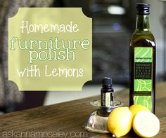 Green Cleaning: Cleaning with Lemons - Several cleaning recipes