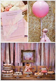 Pink Sparkle 1st Birthday Party