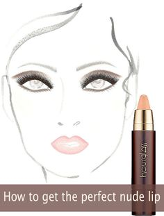How to get the perfect nude lip for fall.