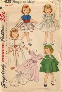 Toni doll pattern from McCalls