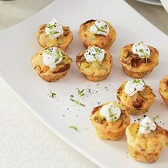 Mini Bacon Quiches | MyRecipes.com