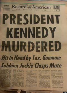 john f kennedy newspaper
