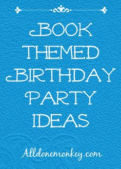 Book-Themed Birthday