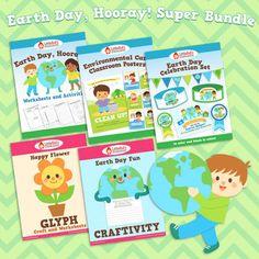 Earth Day, Hooray! Super Bundle $