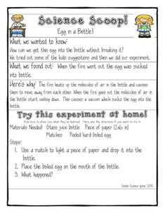 This is an awesome resource for any Primary Classroom. The resource includes engaging Science experiments which incorporate children's literature, ...