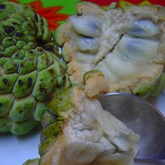 Atis  - a hybrid between the Sugar Apple and the Cherimoya