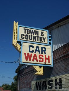 Town & Country Car Wash...Youngstown, Ohio.