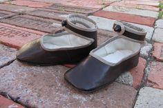 1860s reproduction children's shoes!