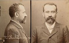 Alphonse Bertillon (April 24, 1853 – February 13, 1914) was a French police officer and biometrics researcher who created anthropometry, an identification system based on physical measurements. Anthropometry was the first scientific system used by police to identify criminals. Before that time, criminals could only be identified based on unreliable eyewitness accounts.