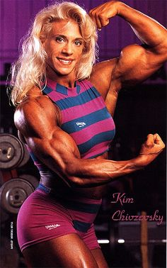 Kim Chizevsky - Female Bodybuilder, Fitness, and Figure Competitor